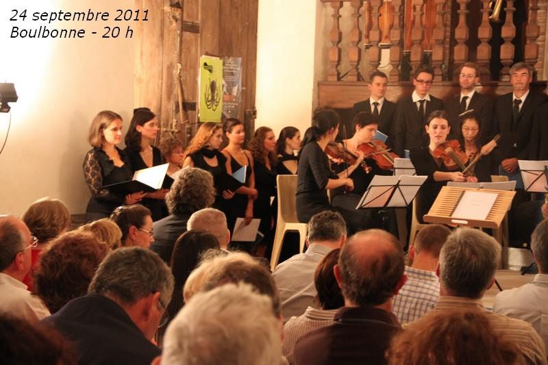24 septembre 2011 : Nisi quia Dominus,Te Deum